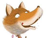 Le renard et la cigogne (éditions Lito)