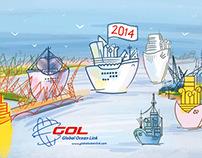 Global Ocean Link 2014 calendar