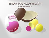 Thanks Adam Wilson for Dribbble invite