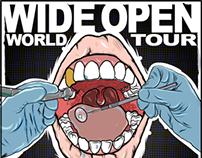 Aerosmith Wide open Tour