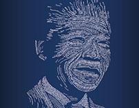 Tribute ad for Mandela