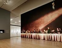 SF MoMA Mural: Judgement of Paris