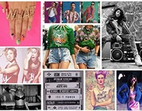 bad girls world tour posters