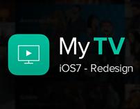 MyTV - iOS7 Concept