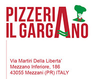 Logo e menu Pizzeria Il Gargano