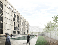 Rehabilitación de edificio de viviendas en Espronceda