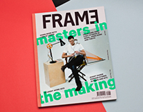 Frame magazine #89 Boot Camp x (RED) booklet.