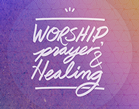 Worship, Prayer & Healing Poster