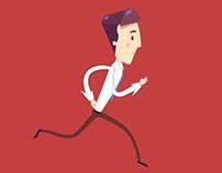 2d Animation loop (walk and run)