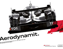 Print: Audi Motorsport - Le Mans Announcement