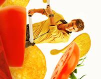 SLICE potato chips