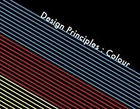 Poster . Colour Principles