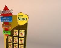 NIDO dispaly stand