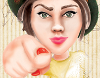 I WANT YOU - pin up