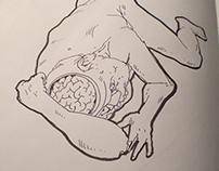 Nude life drawings 2012-2013 – Sketchbook Part IV
