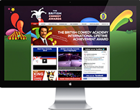 British Comedy Awards - Online assets and branding