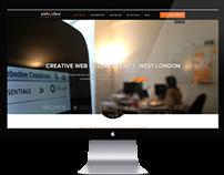 Zebedee Creations website design / frontend development