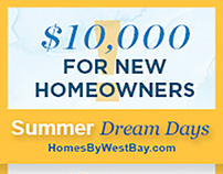 Homes By WestBay Summer Promo