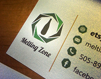 Brand Identity, Collateral & Photography: Melting Zone