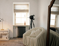 House in the style of «Provence»   Bedroom