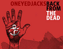 "Oneyedjacks ""Back from the Dead"" album cover"