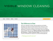 Visible Window Cleaning Website