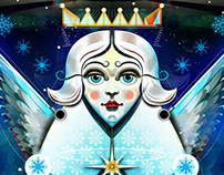 Christmas Card Illustrations