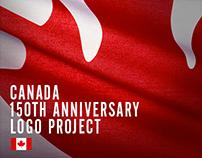 Canada 150th Anniversary Logo Project