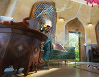 Oriental Dome Living Room