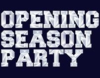 Opening Season Party