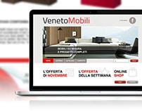 Web Design   Veneto Mobili