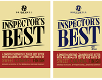 Inspectors Best Brew Label Branding