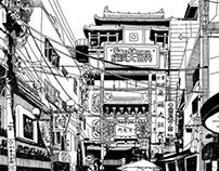 VIEWS OF JAPAN DRAWING SERIES