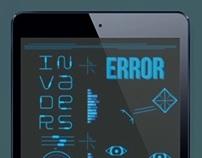 Interface Futuriste Tablette