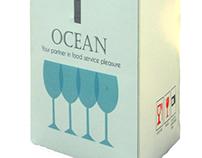 Package for wine glass