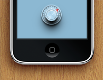 Prototype of the banking app for iPhone