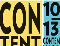 CONTENT ART 2013 BRANDING