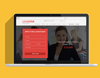 Web template for CarLoan site. Powerful Implement UI/UX