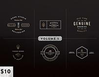 Vintage Logo Kit:  Volume Five