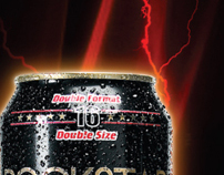 Coca-Cola energy drink vend strips