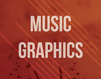 Music Posters & other graphics