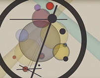 Kandinsky's 'Circles In a Circle' reimagined