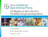Bayer Facilities Engineering Internship Presentation