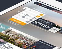 Nordwind Airlines Brand & UI/UX Concept Design