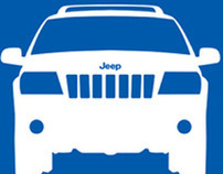 Only in a jeep traffic sign
