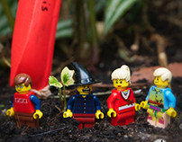 Lego Characters Tour Sheffield