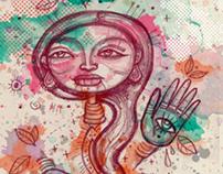 La mujer y su tambor 3