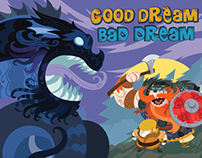 "Illustrated Fantasy story book ""GOOD DREAM, BAD DREAM"""