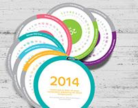 Round Calendar | 2014