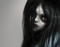 """TSW Concept Art """"the ghost child"""""""
